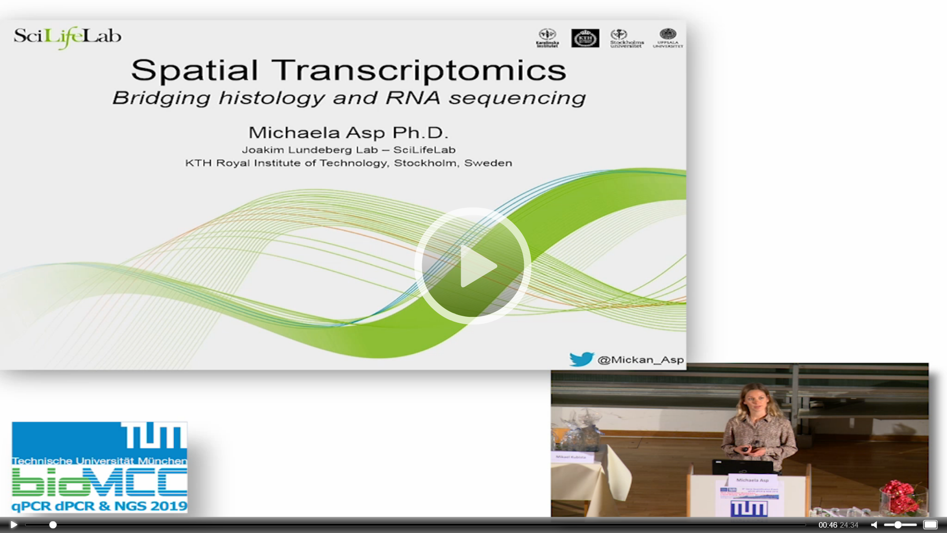 Spatial Transcriptomics - Bridging Histology and RNA Sequencing