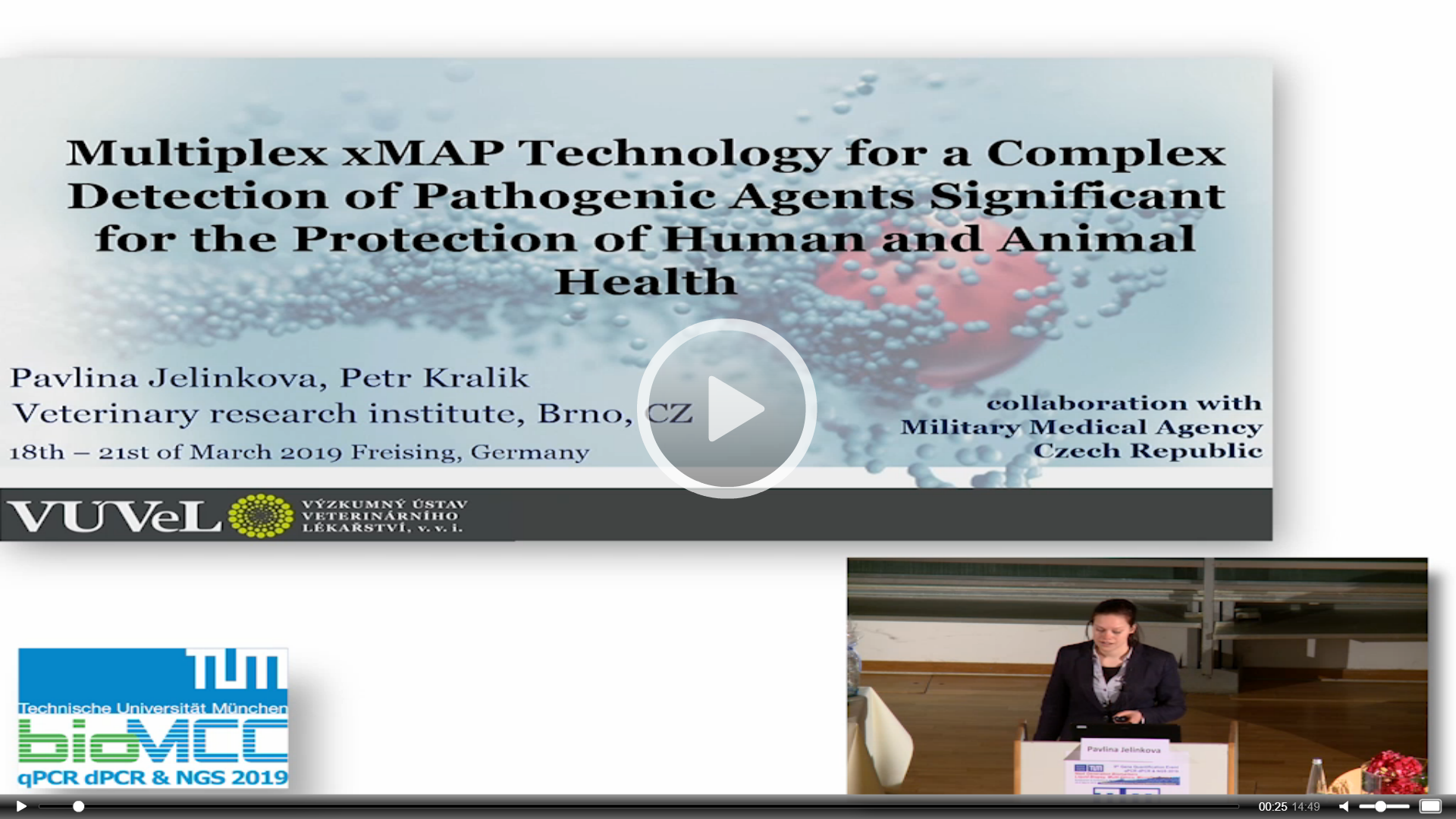 Multiplex xMAP Technology for a Complex Detection of Pathogenic Agents Significant for the Protection of Human and Animal Health