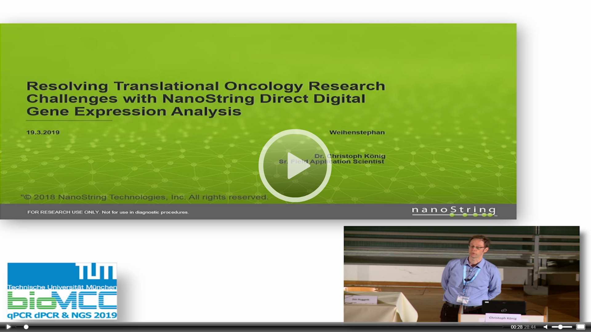 Resolving Translational Oncology Research Challenges with NanoString Direct Digital Gene Expression Analysis