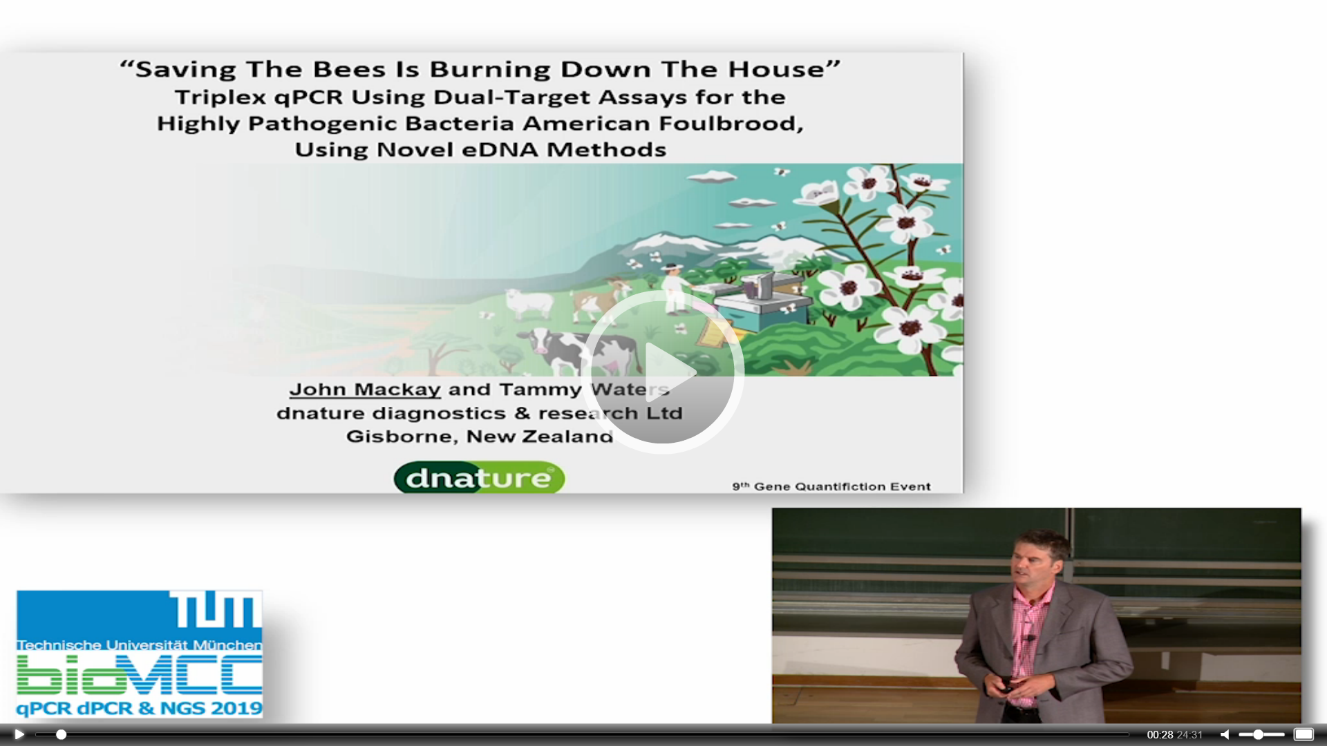 """Saving The Bees Is Burning Down The House"" - Triplex qPCR Using Dual-Target Assays For The Highly Pathogenic Bacteria American Foulbrood, Using Novel eDNA Methods"