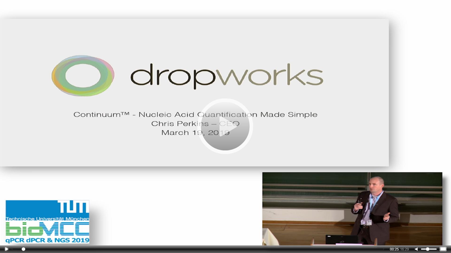 Serial Flow Digital Droplet PCR, a New Paradigm!