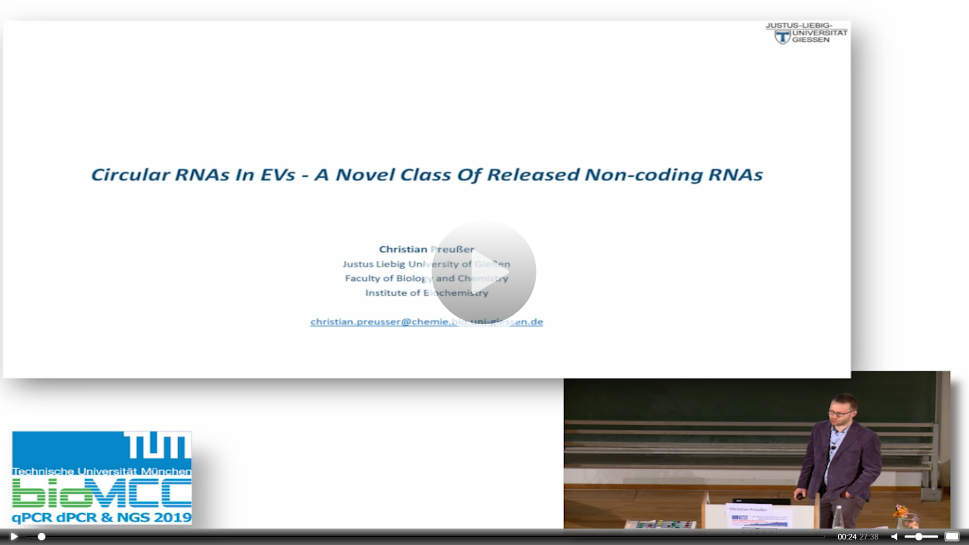 Circular RNAs In EVs - A Novel Class Of Released Non-coding RNAs