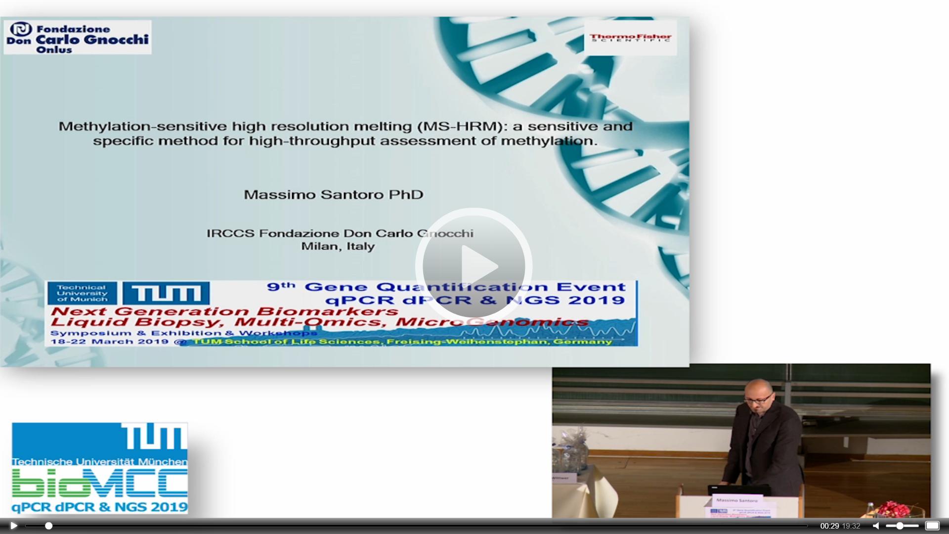 Methylation Sensitive High Resolution Melting; A Sensitive And Specific Method For High-Throughput Assessment Of Methylation