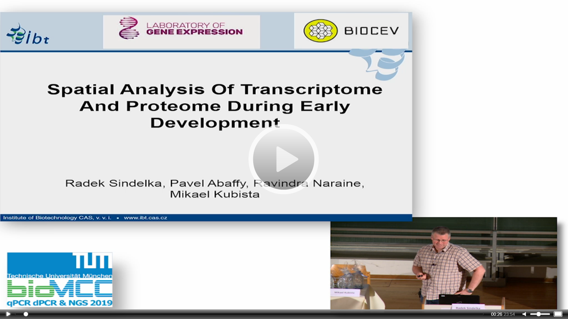 Spatial Analysis Of Transcriptome And Proteome During Early Development
