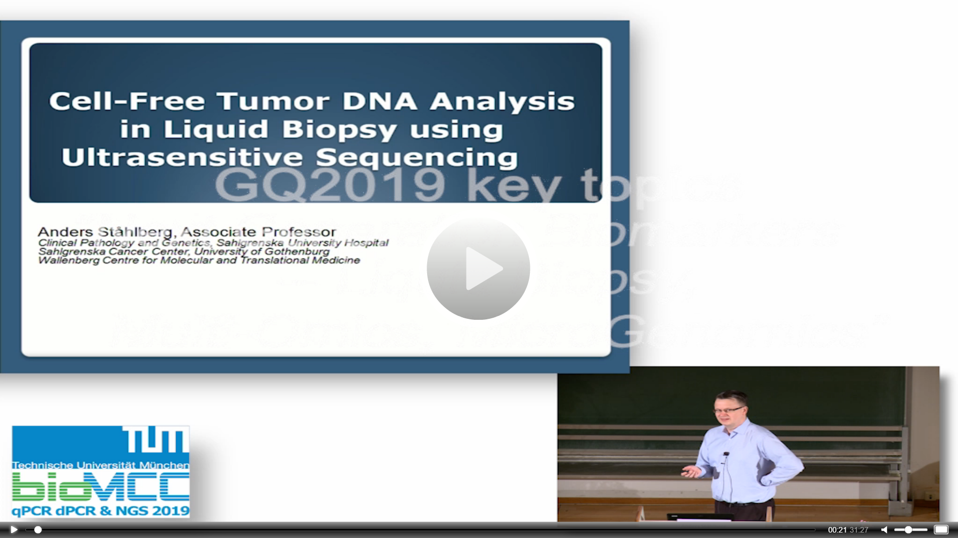 Cell-Free Tumor DNA Analysis In Liquid Biopsy Using Ultrasensitive Sequencing