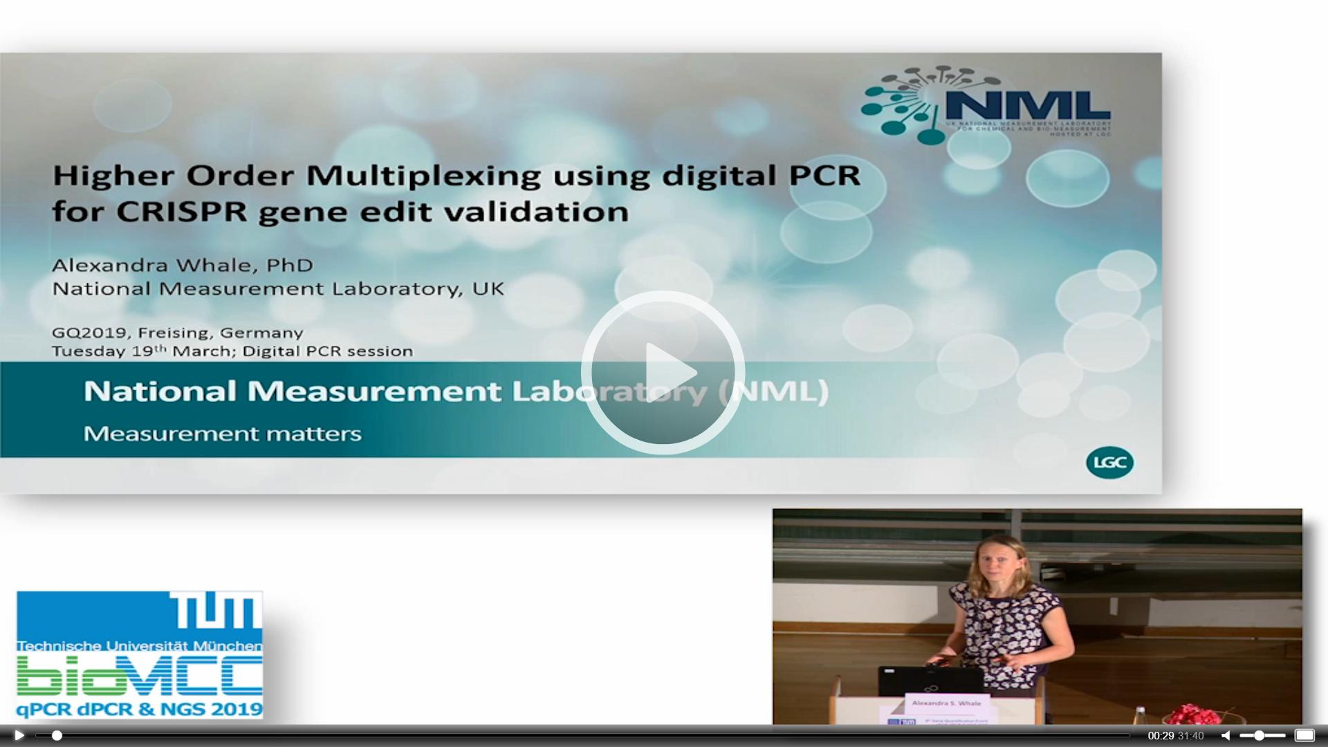 Higher Order Multiplexing Using Digital PCR for CRISPR Gene Edit Validation