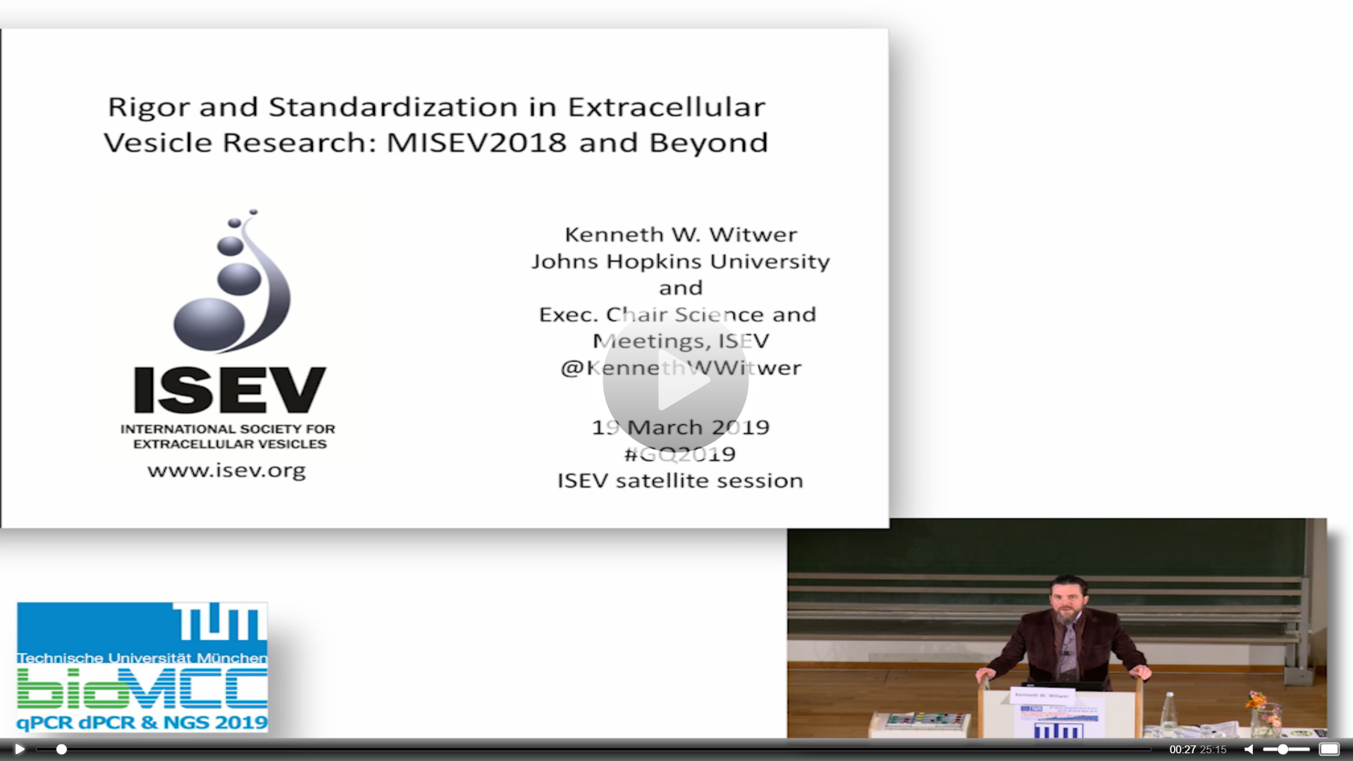 Standardization in EV and exRNA Research: MISEV and Beyond